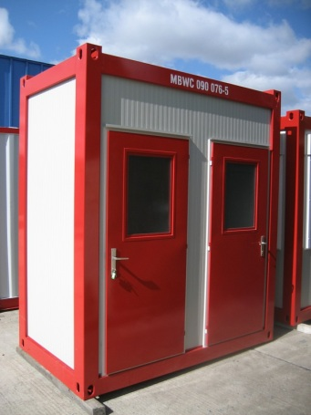 WC-Container Damen & Herren Typ WC05
